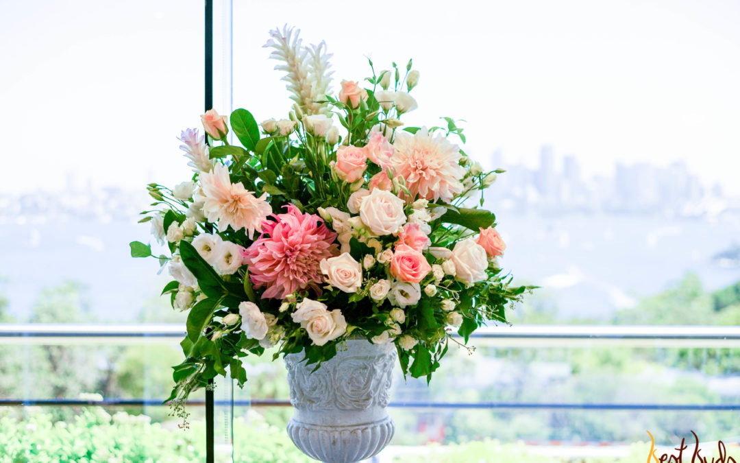 Contemporary flower arrangement – how to?