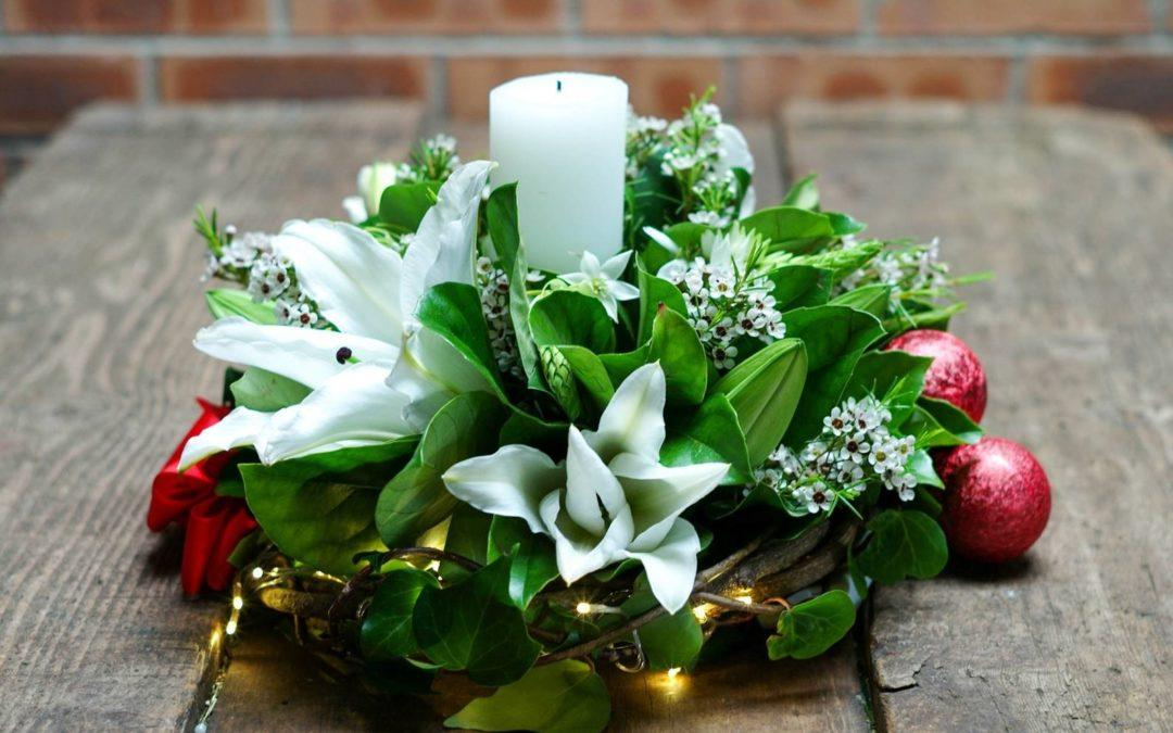 5 Top tips for Christmas floral decorating