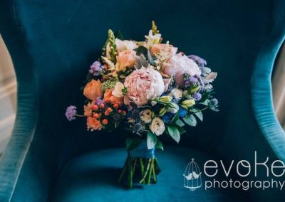 Bridal Bouquet Pastel Pink Peony
