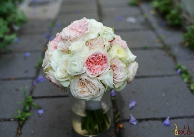 Bridal Bouquet Pastel Structured