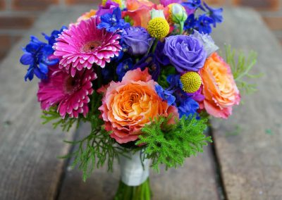 Bridal Bouquet Rainbow Posy