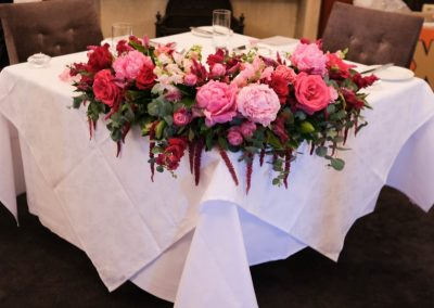 Bridal Table Gunners Barrack Sweetheart table