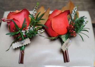 Buttonhole orange