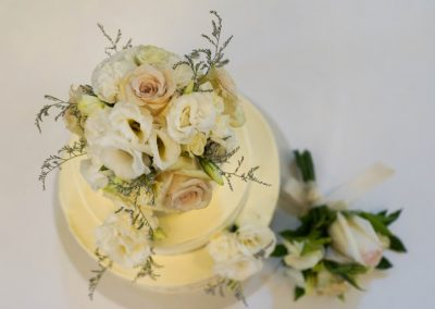 Cake Floral Antique Style
