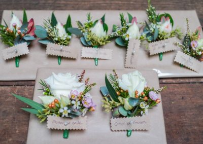 Wrist Corsage Native Flowers