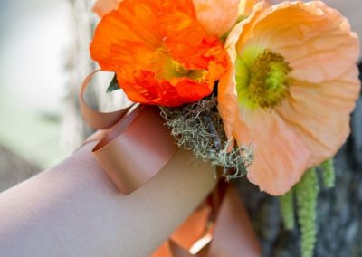Wrist Corsage Orange 2