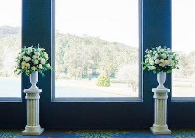 Ceremony Arrangement Gibraltar Hotel Bowral