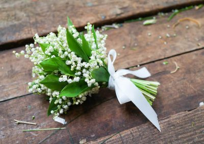 Bridal Bouquet White Lily of the Valley