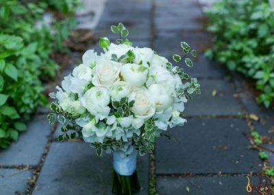 Bridal Bouquet White Structured